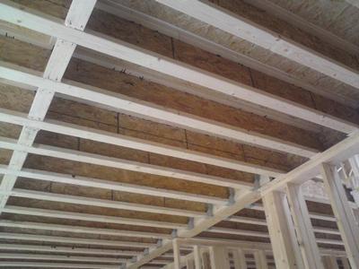 Деревянные перекрытия по тавровым балкам